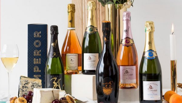 Emperor Champagne Display