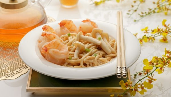 Li Bai - Stir-Fried Special Fish Noodle with Prawn in Superior Stock
