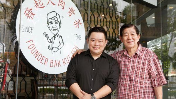 Founder Bak Kut Teh Father-Son