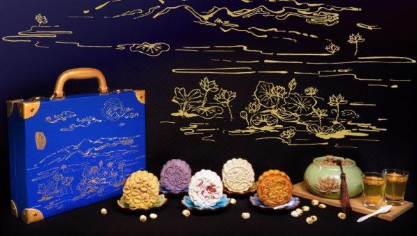 The Golden Lotus MooncakeSet