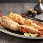 King Rock Lobster Gratinated in Hollandaise Sauce