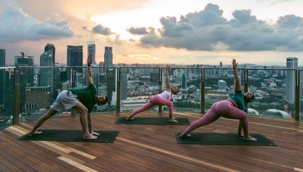 SkyPark Yoga by Virgin Active